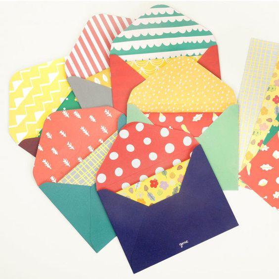 Kuverte in osnove za voščilnice