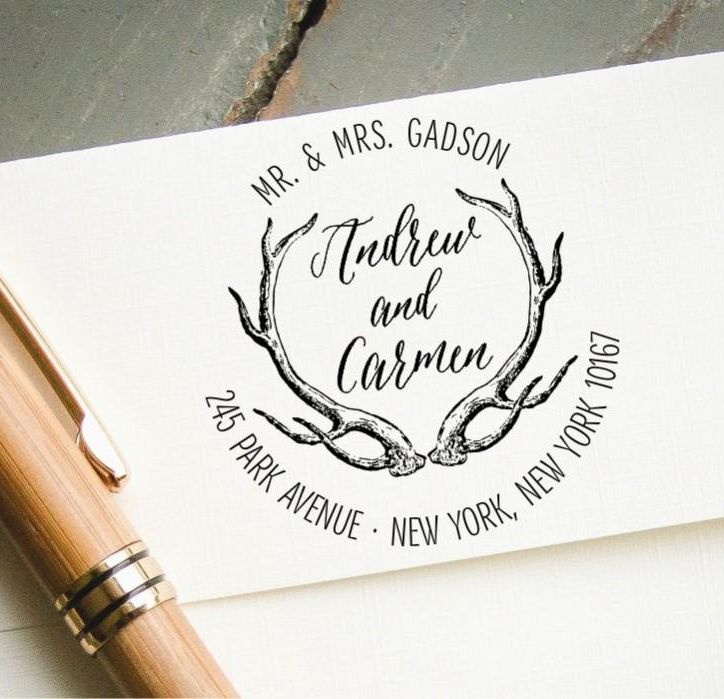 Kuverte z logotipom